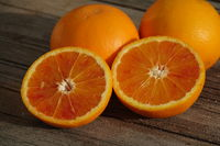 Citrus x sinensis Tarocco, Halbblutorange, Half-blood orange