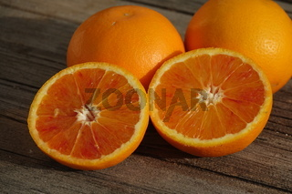 Citrus x sinensis Tarocco, Halbblutorange, Half-blood orange