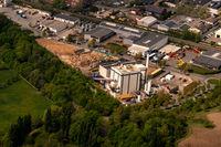 Öko-Tech Holz-Heizkraftwerk in Recklinghausen im Gewerbegebiet König-Ludwig in Nordrhein-Westfalen