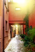 Old street in San Giovanni in Marignano