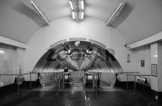 Underground crossing at the metro station Sportivnaya