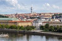 View of picturesque Prague