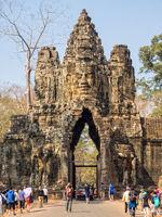 South Gate of Angkor Thom - Siem Reap
