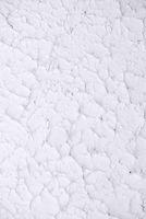 Irish traditional textured white plaster flat design