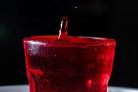 drops of red liquid