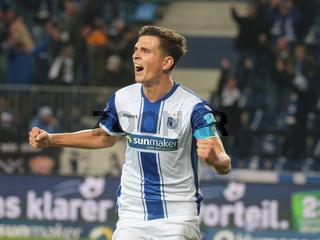deutscher Fussballer Tobias Müller 1.FC Magdeburg DFB 3.Liga Saison 2020-21
