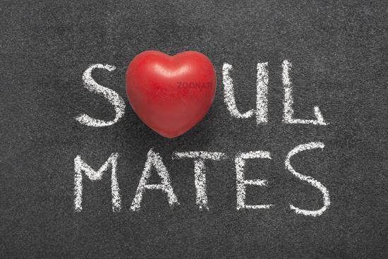 soul mates heart