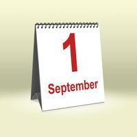 September 1st | 1. September
