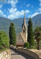 Suedtiroler Weinstrasse bei Tramin,Trentino,Italien