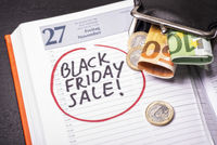Termin für Black Friday Sale im Kalender