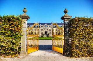 The Herrenhausen Gardens in Hanover, Germany