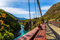 River and bridge Kawarau