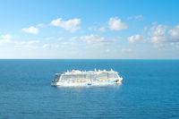 Aida Cruise Ship  on Ocean