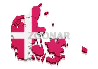 Map Denmark