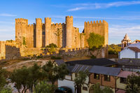 Castle in town Obidos - Portugal