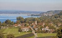 Mammern Kanton Thurgau, Schweiz