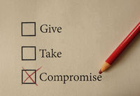 Give Take and Compromise