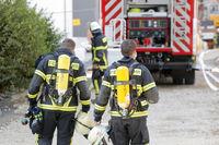 Feuerwehr Großeinsazt