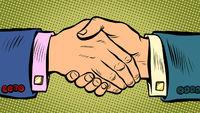 handshake deal business agreement