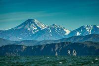Summer landscape of Kamchatka