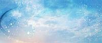 netzwerk linien punkte himmel banner zahlen