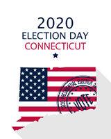 2020 Connecticut vote card