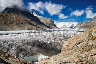 Schweizer Gletscher - Großer Aletschgletscher