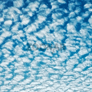 Cloudscape With Altocumulus Clouds