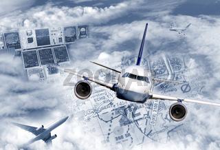 Internationaler Flugverkehr