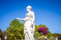 Statue of Minerva in Luxembourg Gardens, Paris