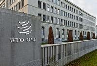 Sitz der Welthandelsorganisation, WTO, im Centre William Rappard,  Genf, Schweiz