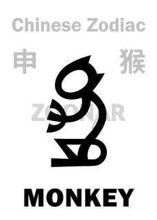 Astrology: MONKEY (sign of Chinese Zodiac)