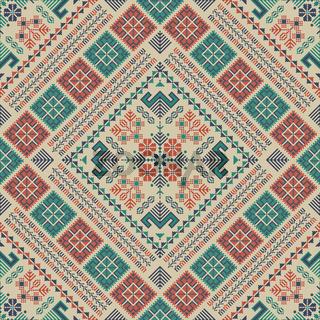 Palestinian embroidery pattern 305