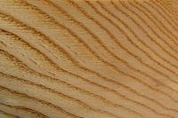 gebürstete Jahresringe einer runden Holzoberfläche als Hintergrund
