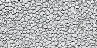 Panorama Header mit Kiesel Steinen auf Weg als Textur