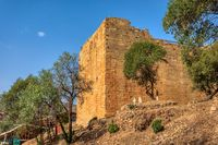 Ruins of the Yeha temple in Yeha, Ethiopia, Africa