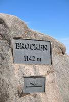 auf dem Brocken im Harz,Sachsen-Anhalt,Deutschland