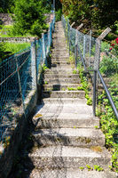 famous 100 steps in Calw Germany