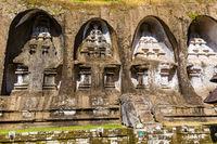 Ganung Kawi Temple in Bali Island - Indonesia