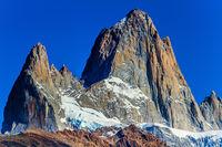 Picturesque mountain range