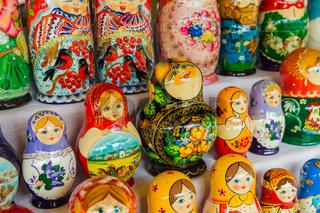 Russian toys Matrioshka