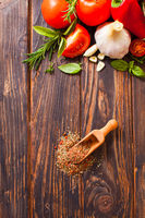 The aromatic spices are made from selected fresh vegetables