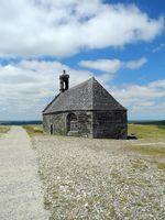 Kapelle auf dem Mont Saint-Michel de Brasparts, Bretagne