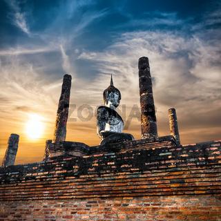 Sukhothai Historical Park. Thailand