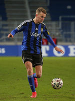 deutscher Fußballer Nicklas  Shipnoski 1.FC Saarbrücken DFB 3.Liga Saison 2020-21