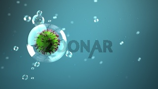 Droplet Infection Corona Virus