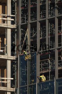 Einbau von Fenstern bei der Europäischen Zentralba