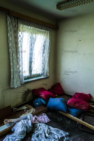verwüstetes Zimmer