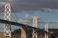 San Francisco Bay Bridge at Dusk