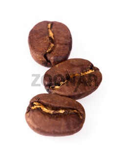 coffe beans isolated